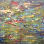 "Run #20 acrylic on canvas 56"" x 67.5"""